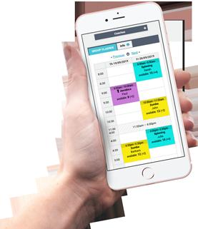 Responzivní rezervační systém pro mobily a tablety